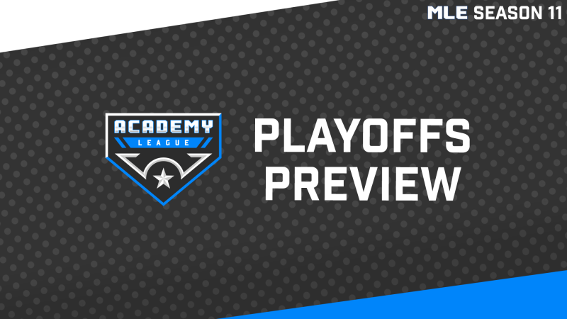 Playoffs Preview: Academy League, Round One