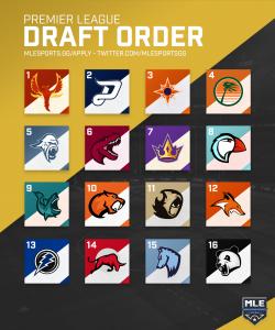 Season 11 Premier League Draft Order